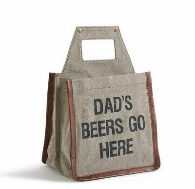 Mona B Beer Caddy- Dad's Beer
