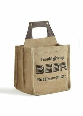 Mona B Beer Caddy- Quitter