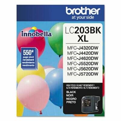Brother LC203XL Series Black Ink Cartridge