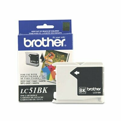Brother LC51 Black Cartridge