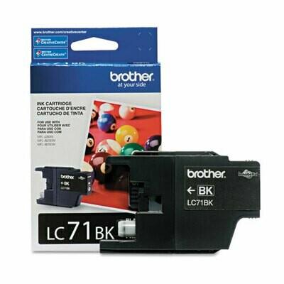 Brother LC71 Black Cartridge