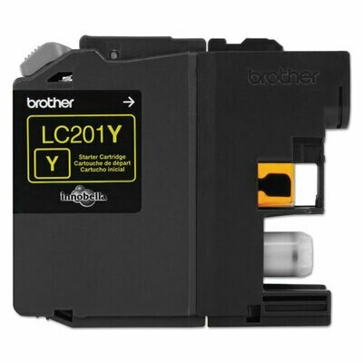 Brother LC201 Yellow Ink Cartridge