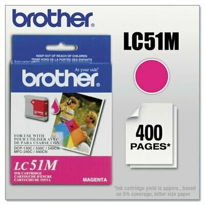 Brother Lc51 Magenta Cartridge
