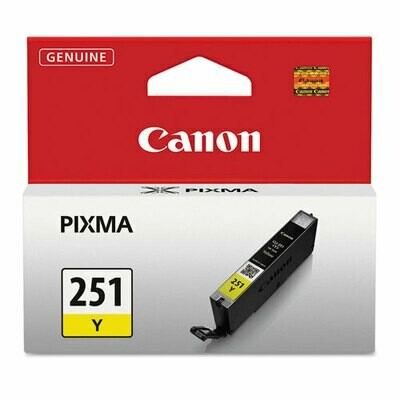 Canon 251 Yellow Cartridge