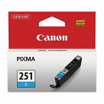 Canon 251 Cyan Cartridge