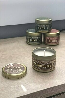 Cosmopolitan Candle Travel Tin
