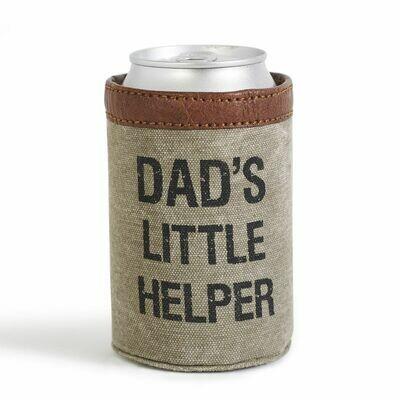 Mona B Can Koozie- Dads Little Helper
