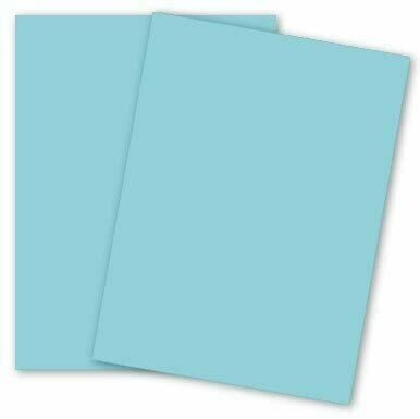 Domtar Blue Paper - 65lb. Card Stock