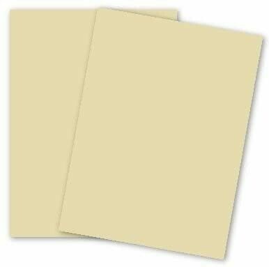 Domtar Ivory card stock Paper - 110lb. Index