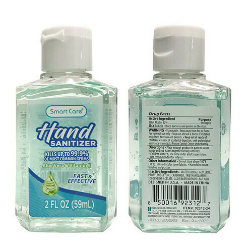 Hand Sanitizer 2oz.