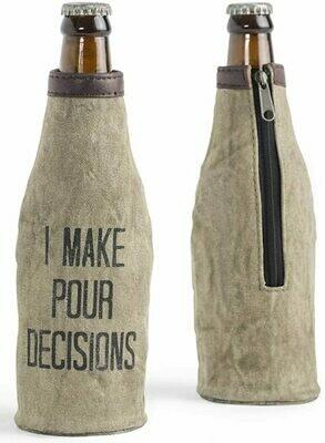 Mona B Beer Koozie - Pour Decisions
