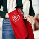 Kitchen Boa Towel - Mrs. Claus