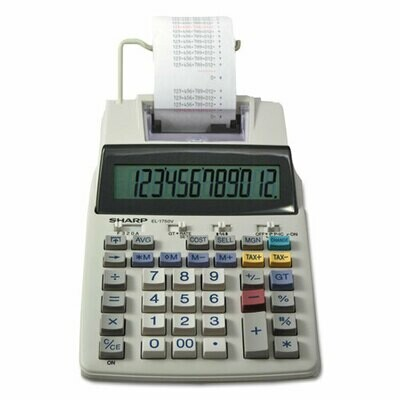 Sharp EL 1750V Calculator