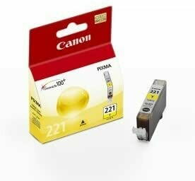 Canon 221 Yellow Cartridge