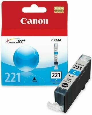 Canon 221 Cyan Ink Cartridge
