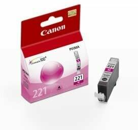 Canon 221 Magenta Ink Cartridge