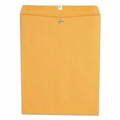 Universal Kraft Clasp Envelope, 12 x 15.5, 100/Box