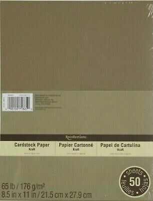 Recollections Kraft Cover 65lb paper
