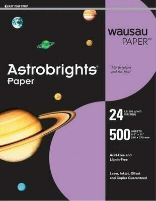 Wausau Paper Purple 24#
