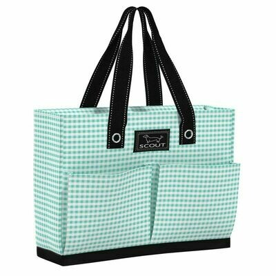 SCOUT Uptown Girl Pocket Tote - Barnaby Checkham pattern