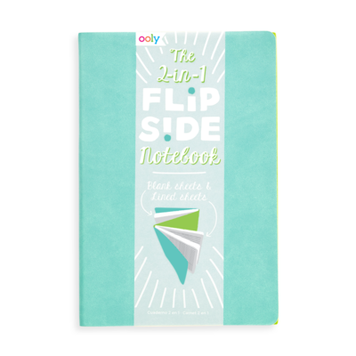 The 2 in 1 flipside notebook - Teal