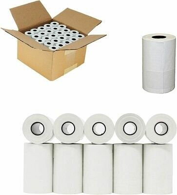 Thermal Cash Register/POS paper rolls, 2.25x50', carton of 50 rolls