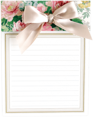 Anna Griffin Floral Notepad