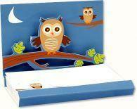 Pop Up Notepads (Owls)