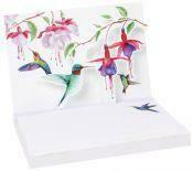 Pop Up Notepad (Hummingbirds)