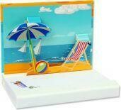 Pop Up Note Pad ( Day At The Beach)