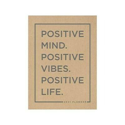 Positive Mind Kraft Monthly Planner