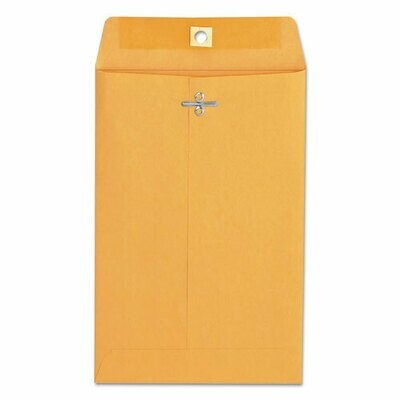 Business Source Heavy Duty 6x9 Clasp Envelopes