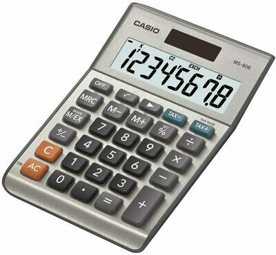 Casio Hand Held Calculator - MS80B