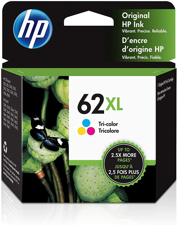HP 62XL Color Ink Cartridge