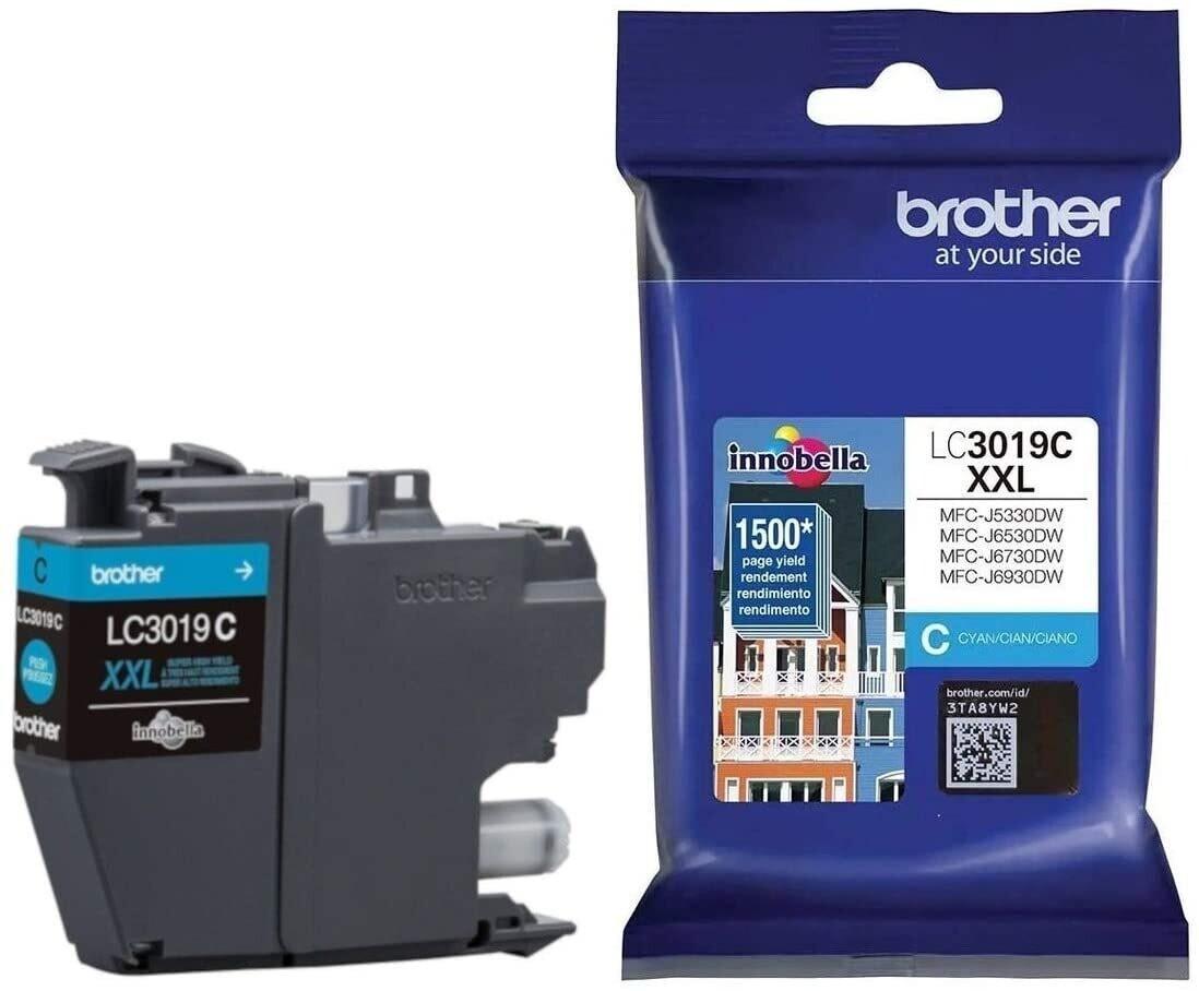 Brother LC3019C XXL Ink Jet Cartridges