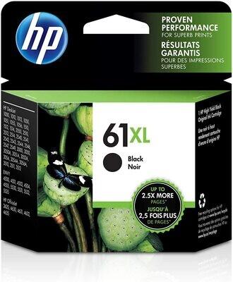 HP 61XL Black Ink Jet Cartridges