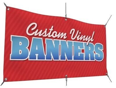 Vinyl Outdoor Banner/Backdrop