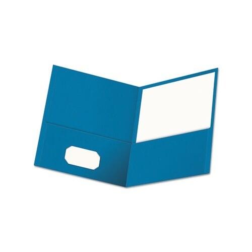 Universal 2 Pocket Blue Portfolio