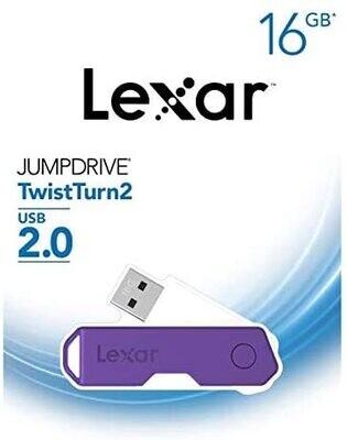 Lexar 16GB Jump Drive - Purple
