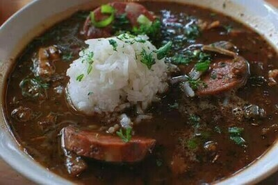 Chicken and Sausage Gumbo   Family size