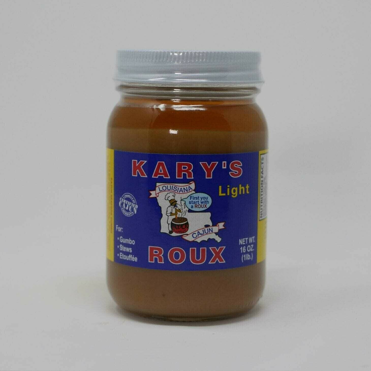 Kary's Light Roux 16oz.