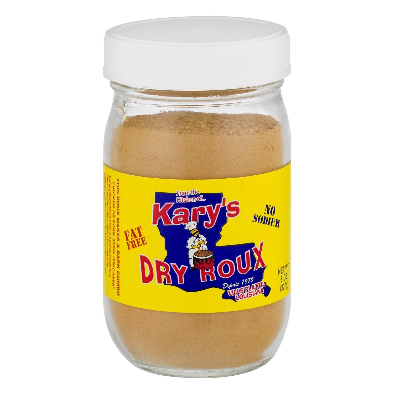 "Kary's ""No Fat"" Dry Roux 16oz."