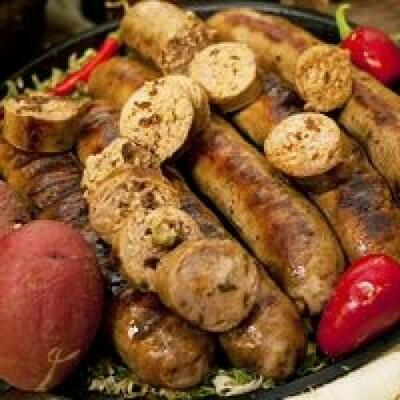 Pork and Alligator Sausage