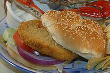 Crab Burger  4oz.