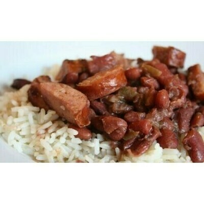 Red Beans, with Smoked Andouille Sausage and Tasso