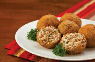 Seafood Boudin Balls
