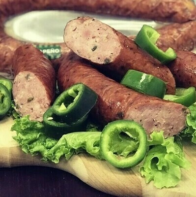 Smoked Pork Jalapeno Sausage
