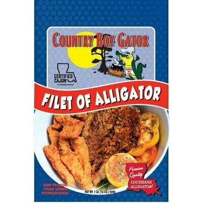 Country Boy Gator Filet of Alligator