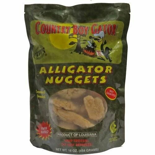 Country Boy Gator Breaded Nuggets