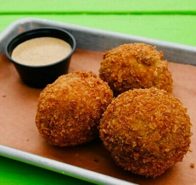 Pork Boudin Ball stuffed with Pepperjack cheese 3 Pack Hot